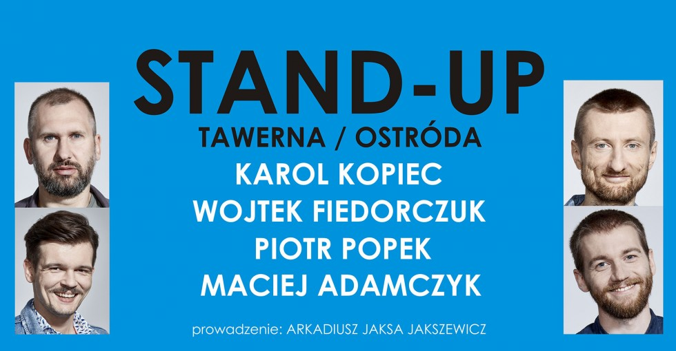 STAND-UP WARMIA PRESENTS